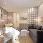 Фото 5: Интерьер маленькой кухни