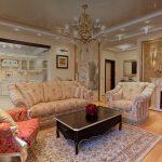Фото 32: Классическая гостиная зал