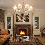 Фото 37: Классический стиль в гостиной