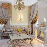Фото 42: Классический стиль гостиной