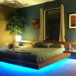 Фото 82: Кровать подсветка