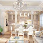 Фото 51: Кухня гостиная в доме