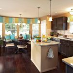 Фото 37: Кухня с окном фото