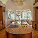 Фото 45: Кухня эркер фото