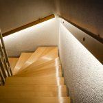 Фото 55: Лестница со светодиодной подсветкой