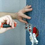 Фото 11: Монтаж розеток и выключателей