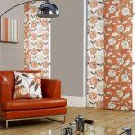 Фото 13: Оранжевые занавески