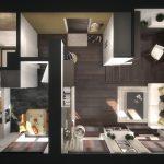 Фото 62: Планировка для квартиры