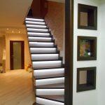 Фото 59: Подсветка лестницы