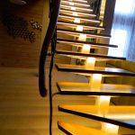 Фото 60: Подсветка ступеней