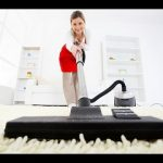 Фото 2: Пылесос на ковре