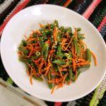 Фото 38: Салат с морковью и фасолью