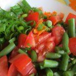 Фото 40: Салат с фасолью морковный