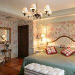 Фото 24: Спальня английская классика