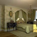 Фото 27: Спальня в английском стиле
