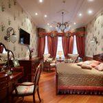 Фото 28: Спальня в британском стиле