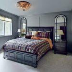 Фото 92: Спальня в стиле английская классика