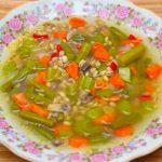 Фото 19: Суп с стручковой фасолью