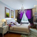 Фото 54: Фиолетовые шторы
