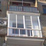 Фото 52: Французский балкон