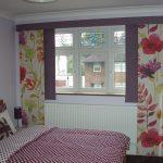 Фото 25: Цветочные занавески