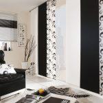 Фото 53: Чёрные шторы