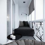 Фото 17: Белый балкон