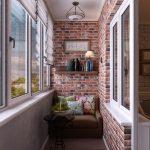 Фото 20: Дизайн балкона интерьер
