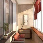 Фото 22: Дизайн балкона фото