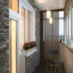 Фото 23: Дизайн балкона