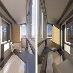 Фото 24: Дизайн балконов новые