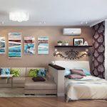 Фото 14: Дизайн гостиной комнаты