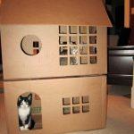 Фото 23: Домики для кошек