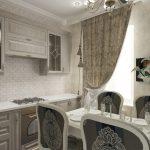 Фото 6: Зеркала на кухню