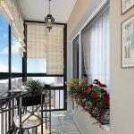 Фото 38: Интерьер балкона в современном стиле