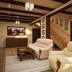 Фото 99: Интерьер дома деревянного