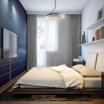 Фото 14: Интерьер прямоугольной спальни