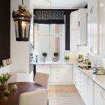 Фото 70: Короткая кухня