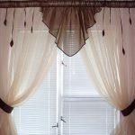 Фото 41: Короткие шторы