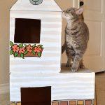 Фото 27: Кошачий домик для котят