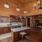 Фото 107: Кухня отделанная деревом