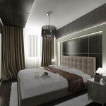 Фото 39: Маленькая спальня - дизайн