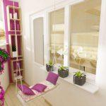 Фото 67: Мебель для балкона