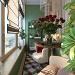 Фото 68: Небольшой балкон