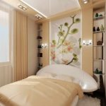 Фото 46: Планировка узкой спальни