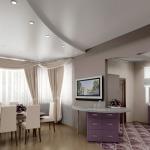 Фото 37: Подвесной потолок для дома