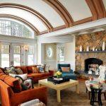 Фото 6: Потолок арочной формы
