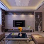 Фото 57: Потолок в гостиной