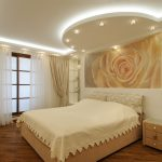 Фото 59: Потолок в спальне