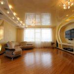 Фото 65: Потолок для гостиной